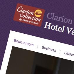 Hemsida – Clarion Collection Hotell Valdemars