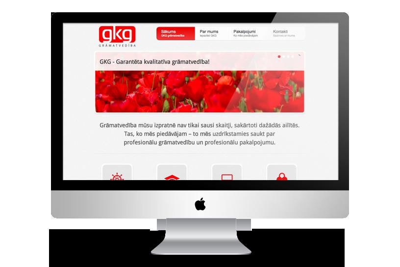 Adaptiv hemsida – GKG.lv